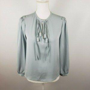 Diane von furstenberg sz 4 sm florane top blouse